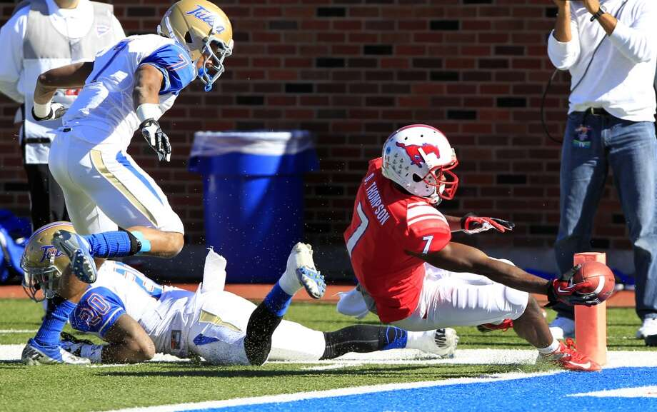 6. SMU (6-6, regular season over): Mustangs held on for dear life to preserve victory over  Tulsa despite nearly squandering a 29-point lead. It wraps up a record fourth consecutive bowl trip. (Associated Press)