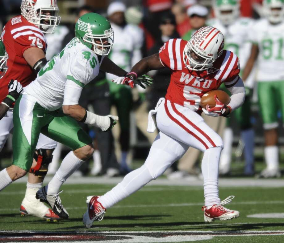 9. North Texas (4-8, regular season over): Remember when the Mean Green dominated the Sun Belt Conference? Saturday's loss at Western Kentucky wasn't a pleasant departure as UNT blew a 14-point fourth-quarter lead. (Associated Press)