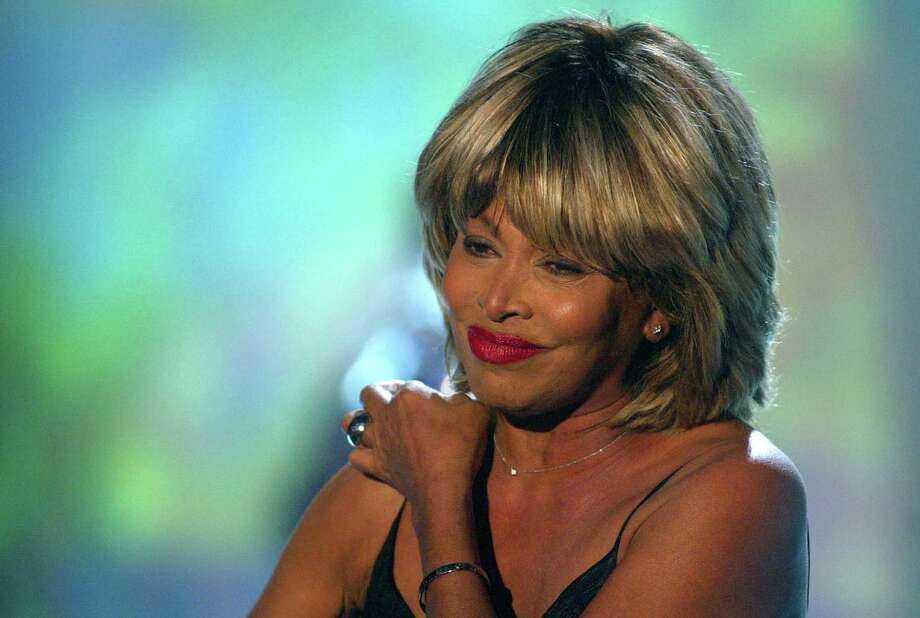 U.S. singer Tina Turner smiles after performing a song during the German television show 'Wetten Dass...?' ('Bet It...?') in Leipzig, Germany,  Saturday Nov.13, 2004. (AP Photo/Alexandra Winkler, Pool) Photo: ALEXANDRA WINKLER / POOL REUTERS