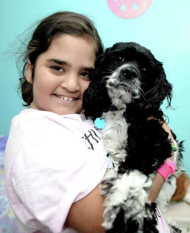 Nederland resident Ashley Watts, 10,  had a benefit held for her on Sunday, November 18, 2012 to raise money and awareness for Watts'  condition and her much needed bone marrow transplant. Photo taken: Randy Edwards/The Enterprise