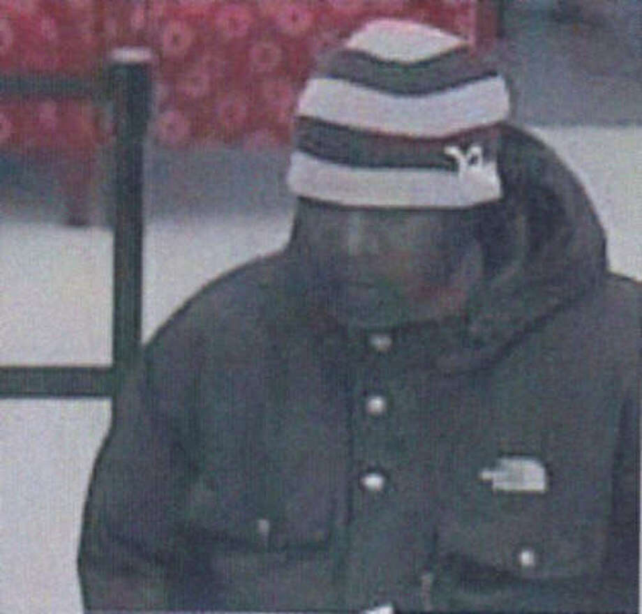 Trumbull, Conn. police are looking to identify this man, who they say robbed the Wells Fargo bank on Hawley Lane around noon on Friday, Nov. 24, 2012. Photo: Contributed Photo