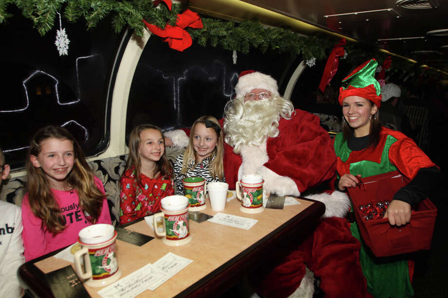 Were you Seen aboard The Polar Express headed for the North Pole with Santa on the Saratoga & North Creek Railway on Sunday, Nov. 25, 2012? Photo: Thomas Killips