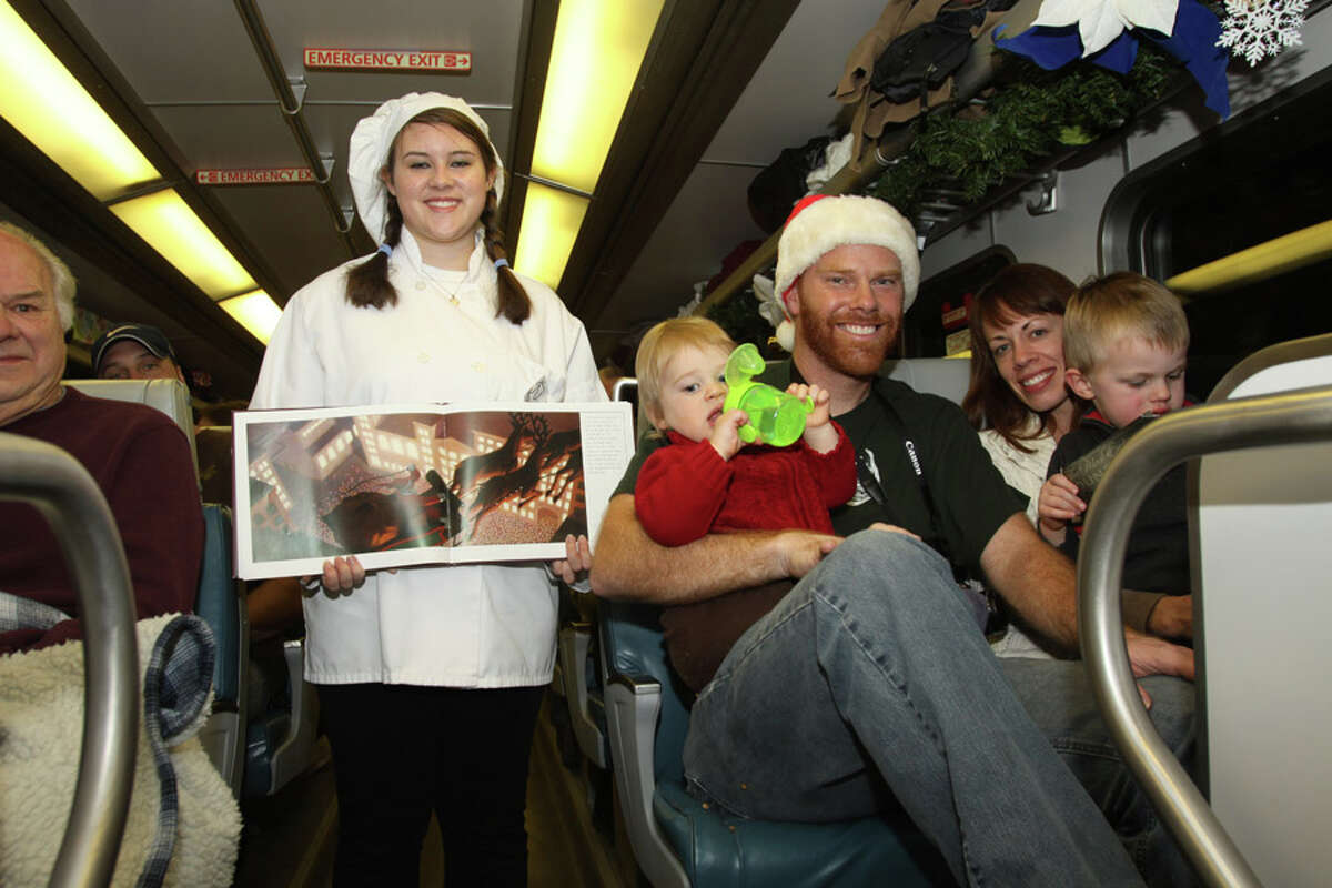Were you Seen aboard The Polar Express headed for the North Pole with Santa on the Saratoga & North Creek Railway on Sunday, Nov. 25, 2012?