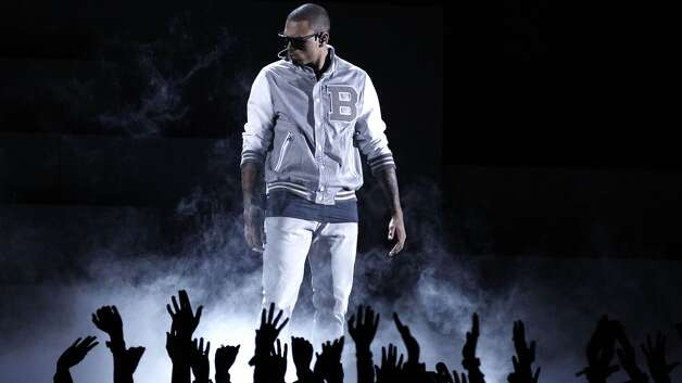 "Chris Brown named his latest album ""Fortune"", which is fitting since he is rich in his own version of delusions of grandeur.  Photo: Matt Sayles, Associated Press"
