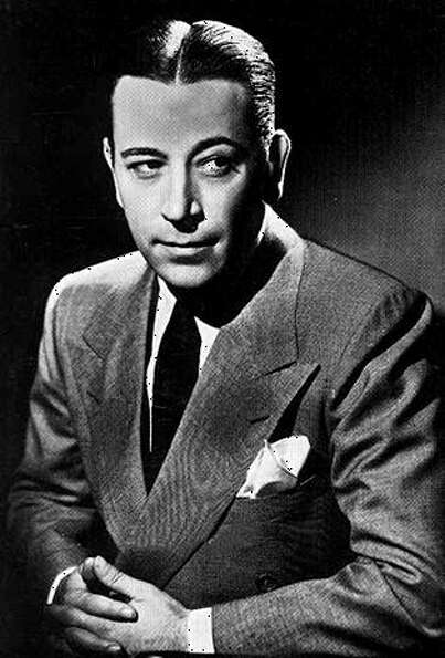 "George Raft as ""Rick"" - Mob-affiiliated both onscreen and off, Raft not only saw Humphrey"