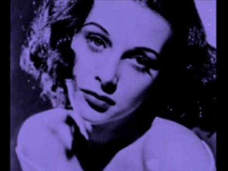 "Hedy Lamarr as ""Ilsa"" - The Viennese beauty and future ""Delilah"" to Victor Matur"