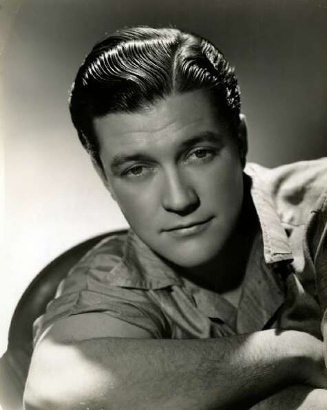 "Dennis Morgan as ""Rick"" - The singer-actor starred opposite such 40s movie divas as Ginger"