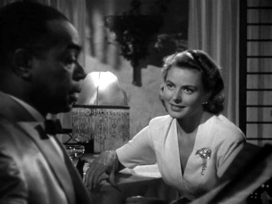 "Dooley Wilson as ""Sam"" and Ingrid Bergman as ""Ilsa Lund"" Photo: GoneMovie.com"