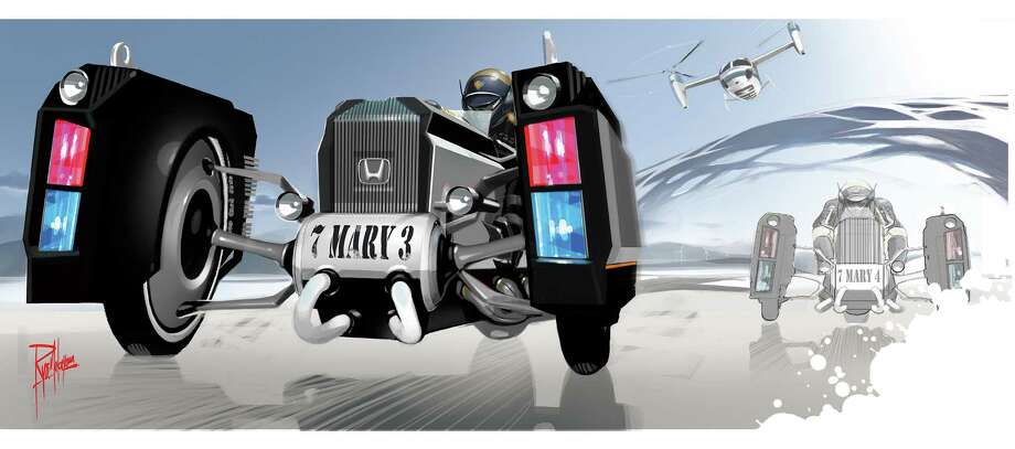 Honda designed its Traffic Crawler for the CHiP Design Challenge. Photo: .
