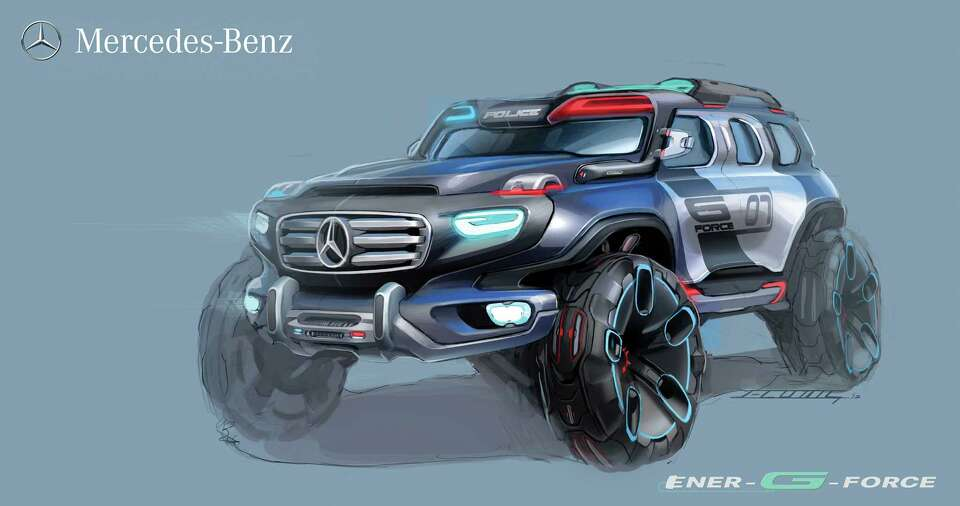 Mercedes-Benz Ener G-Force was designed to deal with any terrain. The car was entered in the CHiP De