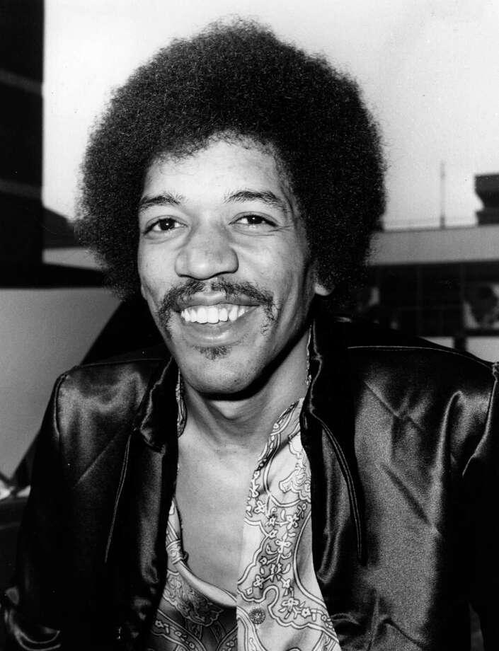 Jimi Hendrix in 1970. Photo: Central Press, Getty / Hulton Archive