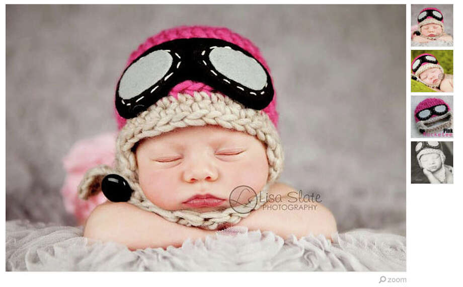 A newborn aviator hat for the baby who will take off right after a nap. (Available from bitOwhimsy) Photo: Etsy.com