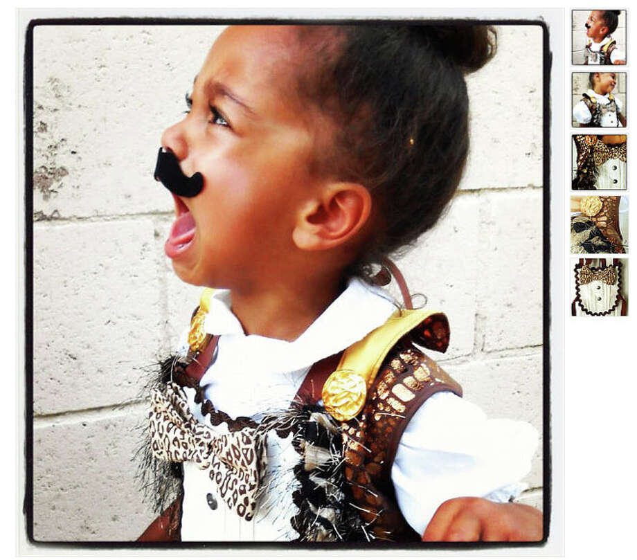 It's Ok baby. No one likes the ironic mustache. (Available from theHouseofLux) Photo: Etsy.com