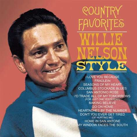 Artist: Willie Nelson Album: Country Favorites: Willie Nelson Style (1966) Photo: Courtesy