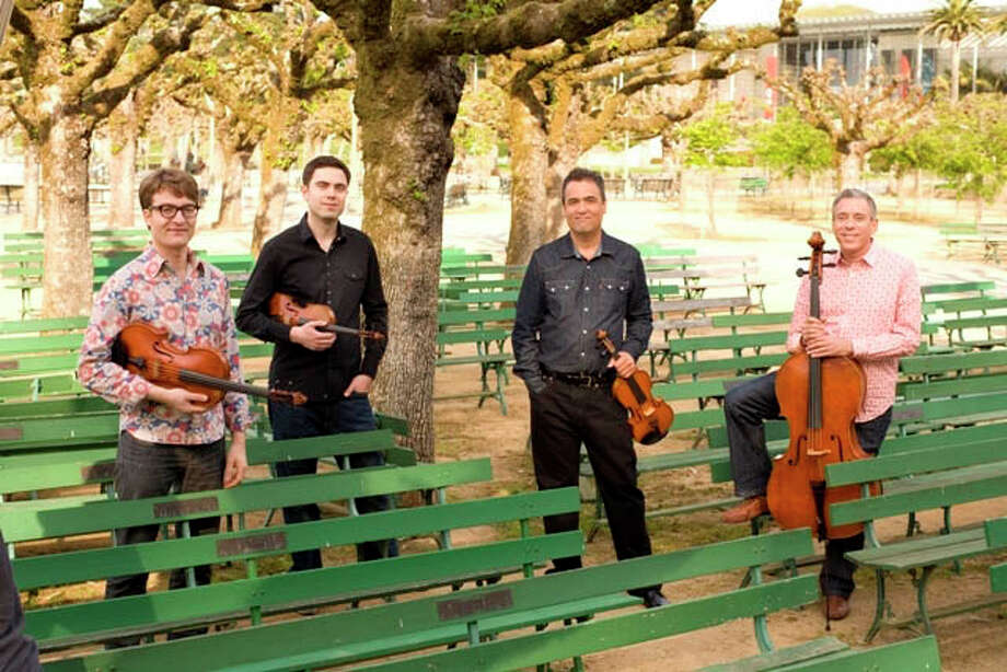 The Turtle Island Quartet will bring its stylized fusion of jazz and classical music to a special evening of holiday music at the Silvermine Arts Center, 1037 Silvermine Road, New Canaan, on Friday, Dec. 14. Photo: Contributed