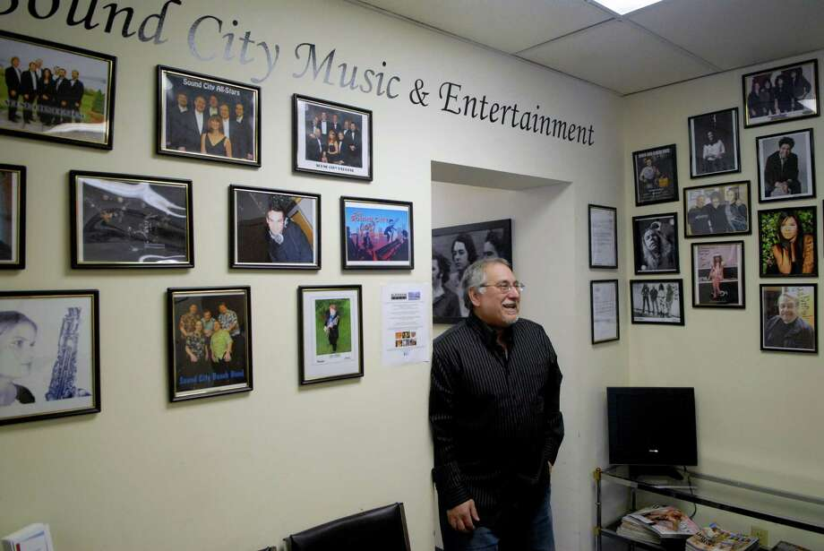 Frank D'Andrea is the owner of Sound City Music & Entertainment in Stamford, Conn. where he rents studio space to bands and also gives music lessons and is in a couple of bands himself. He's photographed on Monday November 26, 2012. Photo: Dru Nadler / Stamford Advocate Freelance