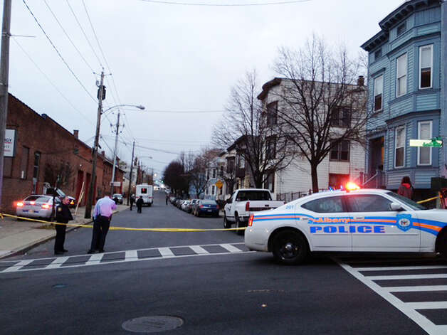 Scene of a fatal stabbing on Myrtle Ave. Monday afternoon, Nov. 26, 2012 in Albany, N.Y. One person is dead and two others were injured after an attack at 157 Myrtle Ave. (Lori Van Buren /Times Union) Photo: Will Waldron