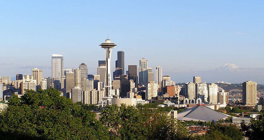 21. Seattle: Non-Hispanic whites account for 66.5 percent of the city's population. Photo: Dherrera_96/Flickr, /