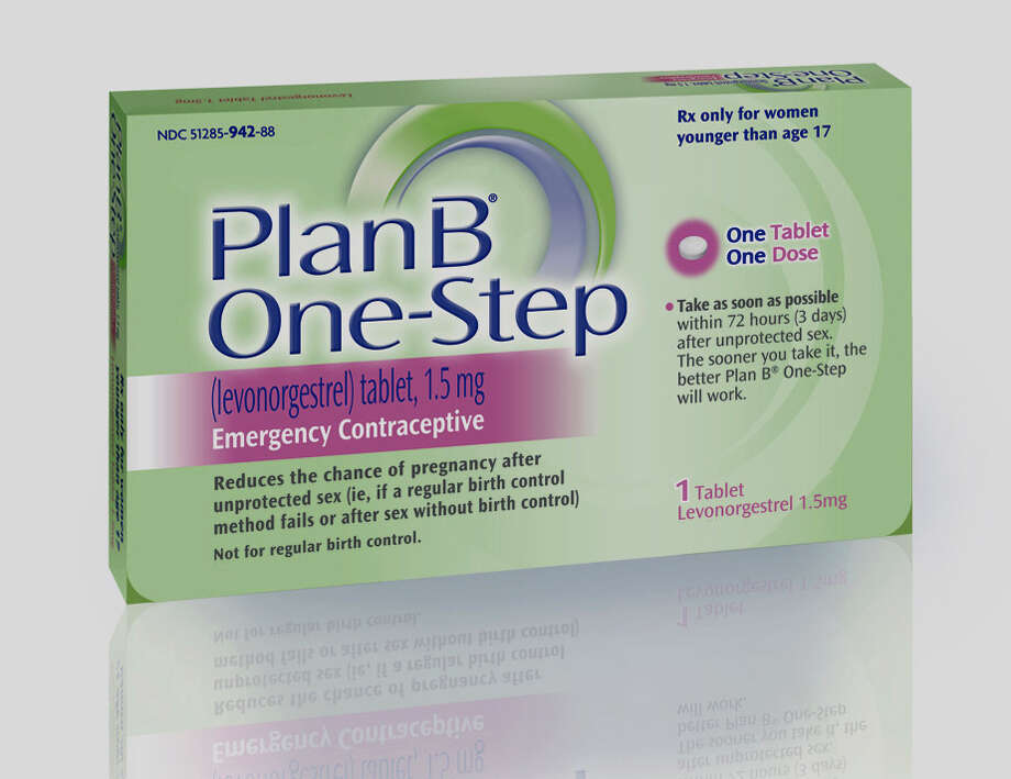 This undated file photo provided by Barr Pharmaceuticals Inc., shows a package of Plan B' One-Step, an emergency contraceptive. The New York City Department of Education is making morning-after-pills available to high school girls at 13 public schools. The department says girls as young as 14 will be able to get the Plan B emergency contraception without parental consent. (AP Photo/Barr Pharmaceuticals Inc., File) NO SALES Photo: AP, HOEP / Barr Pharmaceuticals Inc.