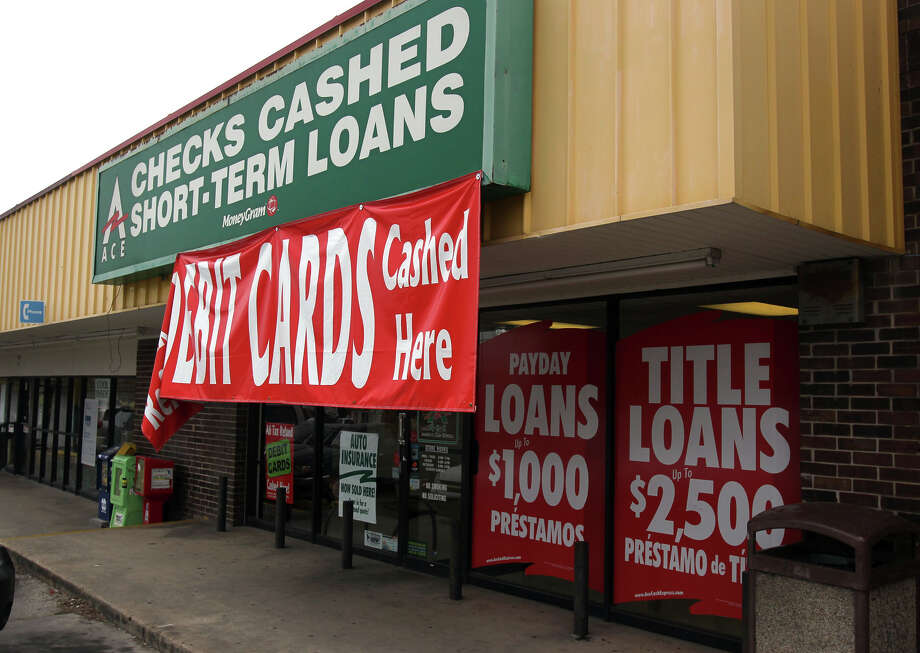 Payday lenders have come under scrutiny by state lawmakers. Photo: JOHN DAVENPORT, SAN ANTONIO EXPRESS-NEWS / Houston Chronicle