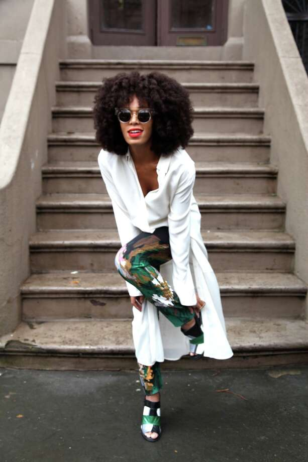 "Singer and style icon Solange has released seven-song EP ""True,"" rooted in '80s pop with dark undertones. Photo: British Vogue"