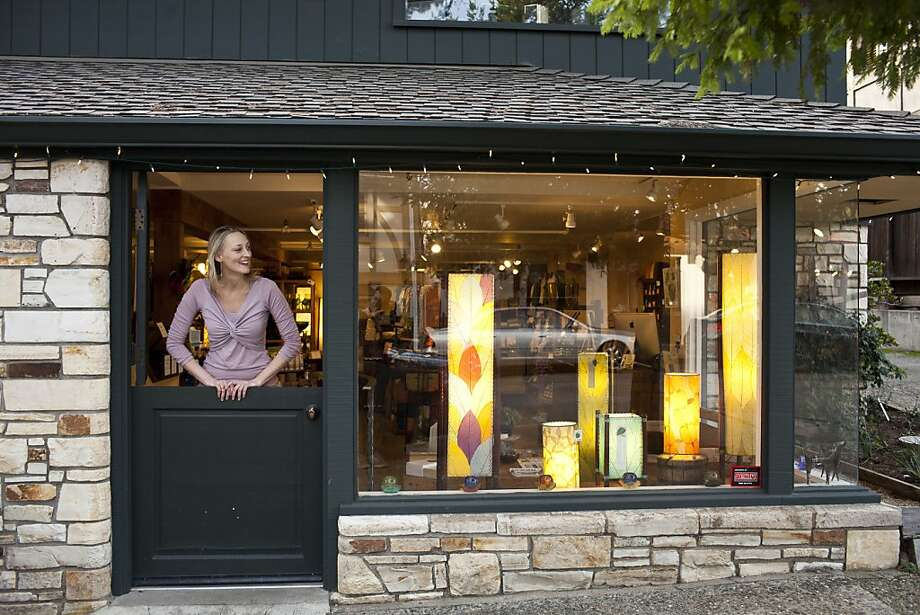 Kristi Reimers, above, owner of Eco Carmel, which opened in 2010, sells a collection of sustainable home and body products. Photo: Jason Henry, Special To The Chronicle
