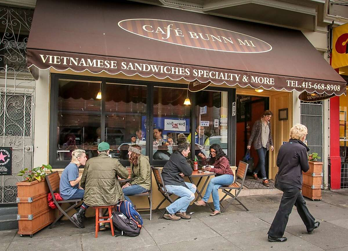 The exterior of Cafe Bunn Mi in San Francisco, Calif., is seen on Tuesday, November 20th, 2012.