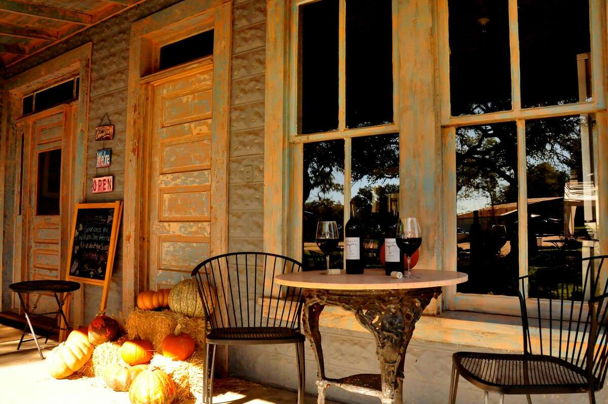 About 20 miles from Fredericksburg (but worth the drive), William Chris Vineyards offers wine made in an old-world style using Texas fruit.  Mandatory Credit: Miguel Lecuona, Hill Country Light Photography