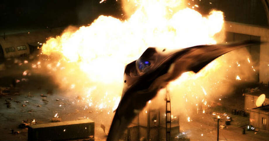 "Sony Pictures' 2005 flop ""Stealth"" featured EDI (Extreme Deep Invader), an unmanned aerial vehicle that becomes sentient and starts defying orders, with deadly consequences, before eventually coming around. Photo: Sony Pictures"