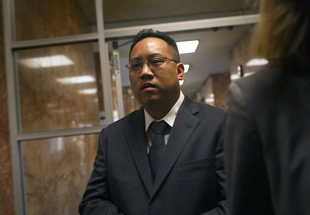 Philip Chun Tong, who filed for bankruptcy in July, is on unpaid leave. Photo: Liz Hafalia, The Chronicle