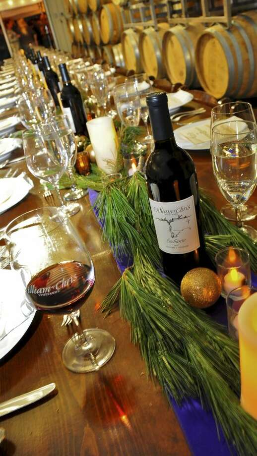 The William Chris Vineyards is one of many in the Hill Country that helps visitors get in the holiday spirit with special events. Photo: San Antonio Express-News