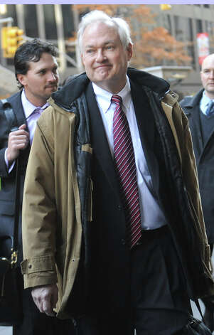 NHL Players' Association executive director Donald Fehr  arrives for labor talks at NHL headquarters in New York, Wednesday, Nov. 21, 2012, in New York. (AP Photo/ Louis Lanzano) Photo: Louis Lanzano