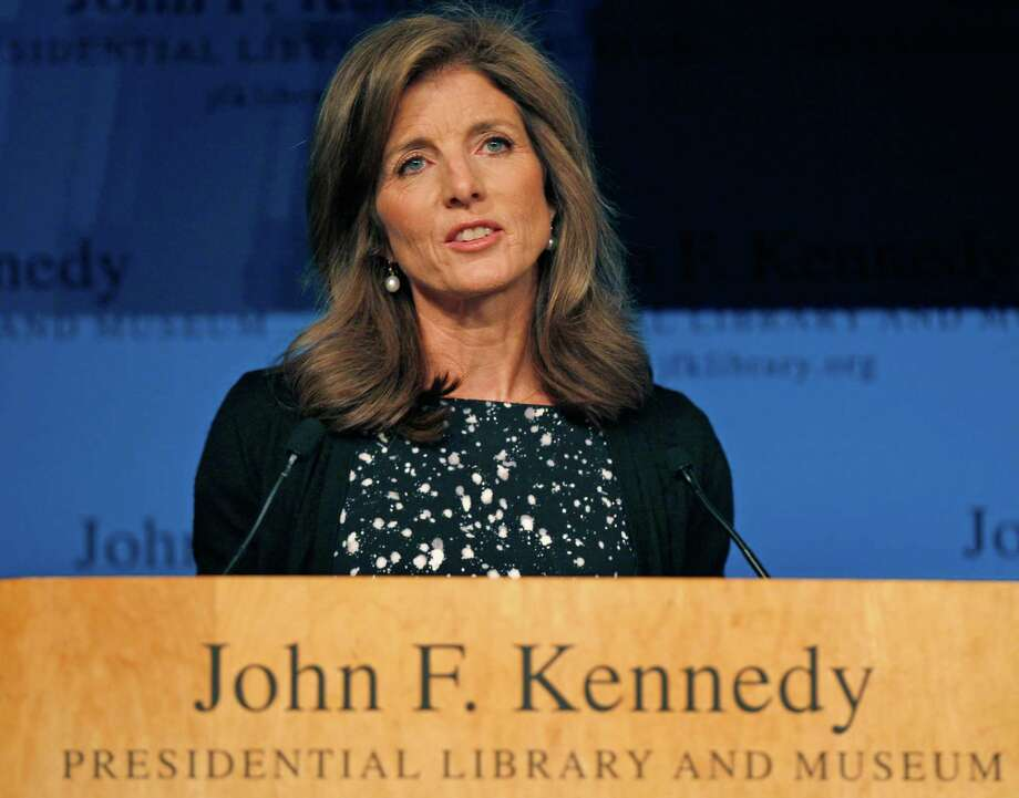 "Caroline Kennedy addresses guests at a forum at the John F. Kennedy Library in Boston, Monday, Oct. 3, 2011.  Kennedy spoke of her family and highlighted the recent release of book titled ""Jacqueline Kennedy: Historic Conversations on Life with John F. Kennedy"", which she wrote the forward for. (AP Photo/Charles Krupa) Photo: Charles Krupa / AP"