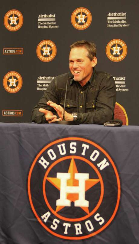 Former Astro Craig Biggio played three positions in his career. Photo: Nick De La Torre, Staff / © 2012  Houston Chronicle