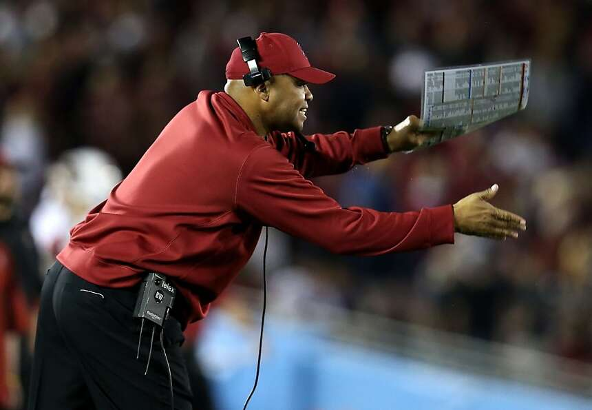 Stanford's David Shaw is Pac-12 Coach of the Year for the second time in his two seasons as a head c