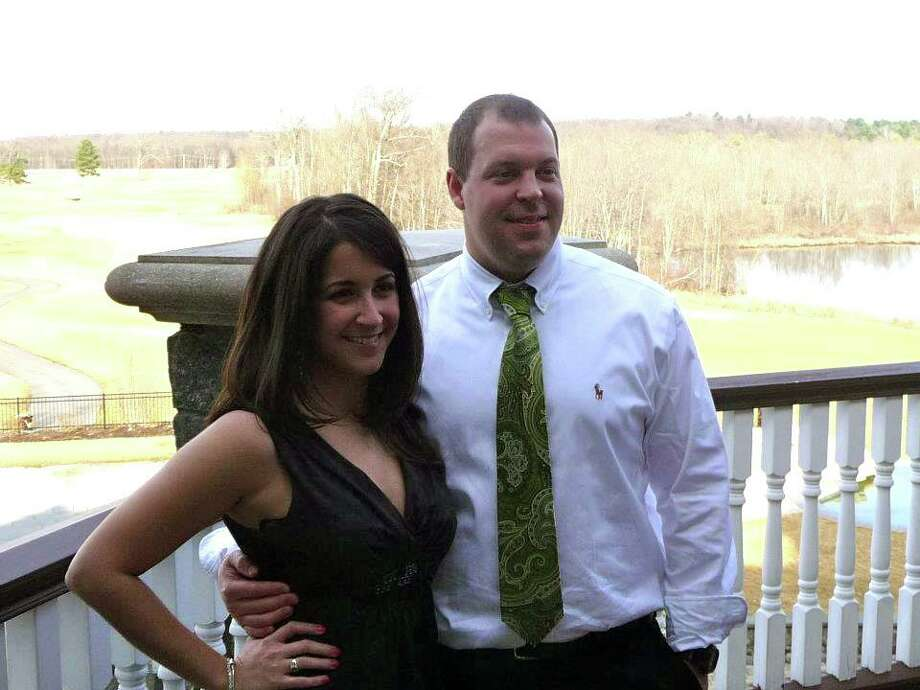 Jilllian Diaz and Adam Cringle, both of Albany, in this undate photo.