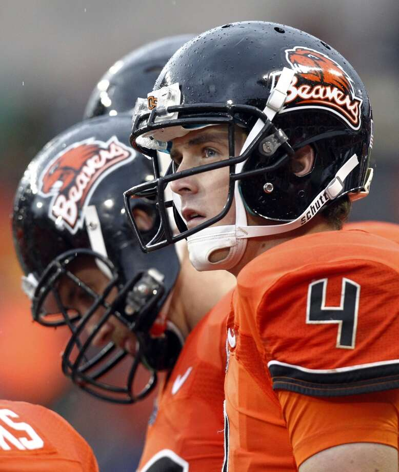 Valero Alamo: Texas (Big 12 No. 3) vs. Oregon State (Pac-12 No. 2)  -- Oregon State quarterback Sean Mannion.  (Don Ryan / Associated Press)