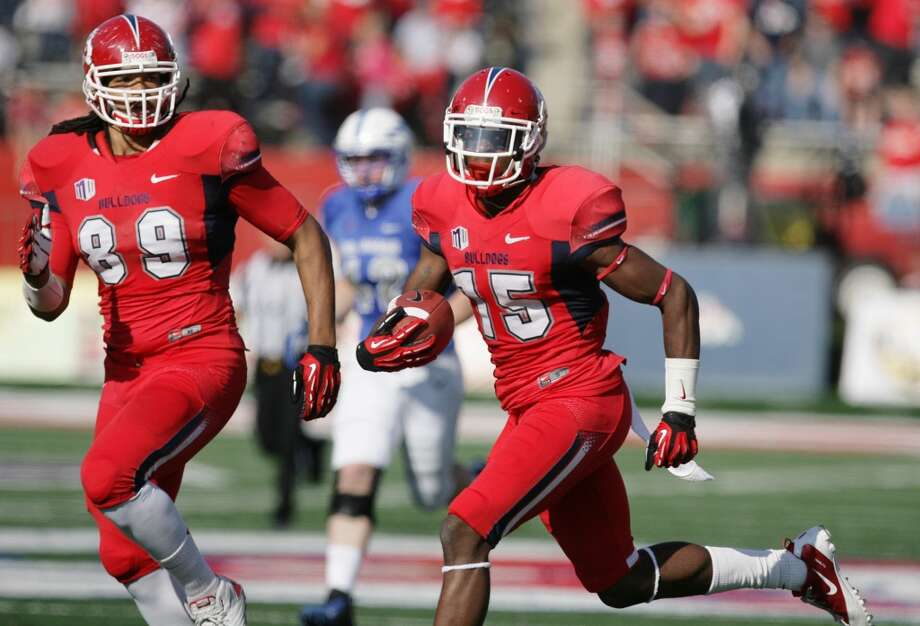 Hawaii: SMU (C-USA) vs. Fresno State (Mountain West No. 4) -- Fresno State's Davante Adams scores against Air Force.   (Craig Kohlruss/The Fresno Bee / Associated Press)