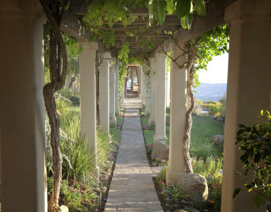 An arbor walk. (Prudential California Realty)