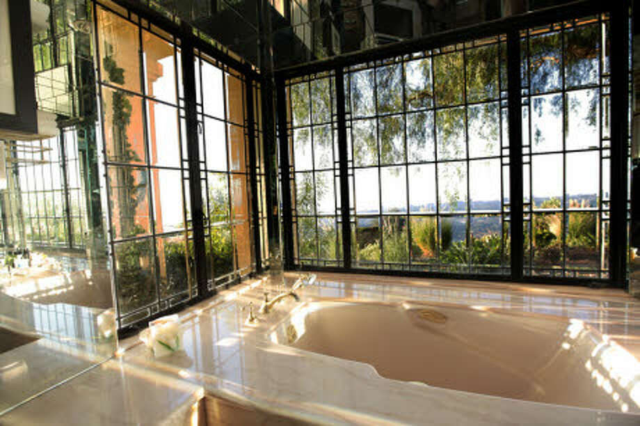 A bathroom with a Jacuzzi. (Prudential California Realty)