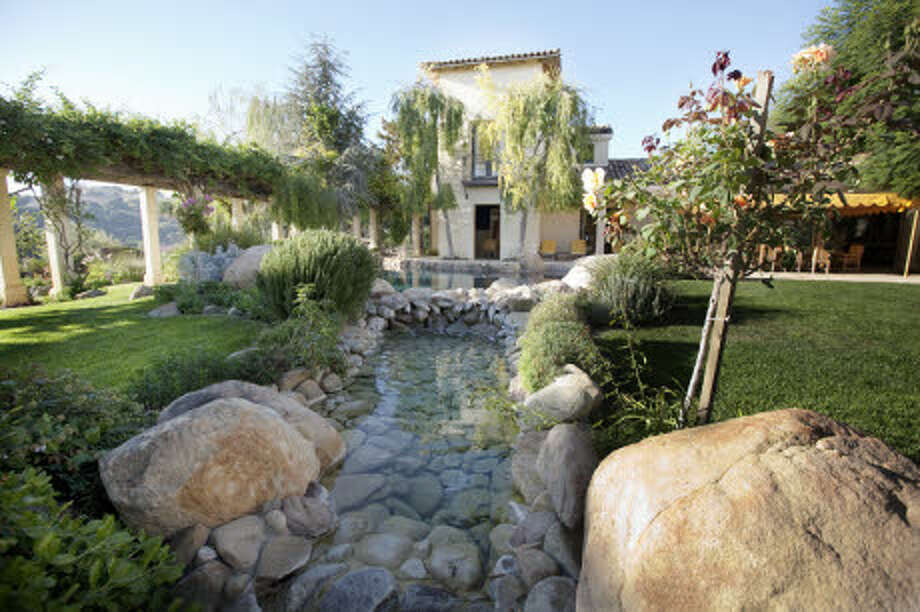 A view of the water features. (Prudential California Realty)