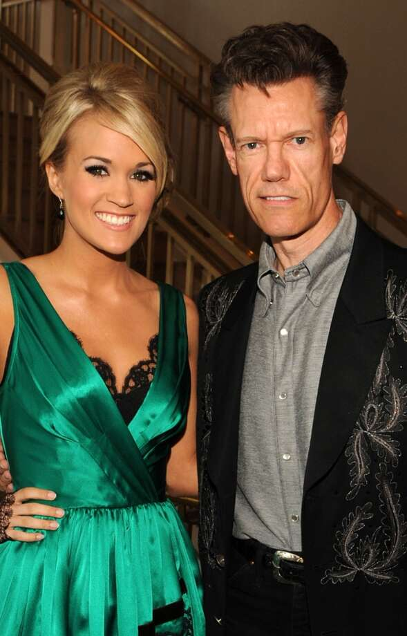NASHVILLE, TN - SEPTEMBER 22:  ***EXCLUSIVE***  Singers/Songwriters Carrie Underwood and Randy Travis at Schermerhorn Symphony Center on September 22, 2009 in Nashville, Tennessee.  (Photo by Rick Diamond/Getty Images for ACM) (Getty Images for ACM)