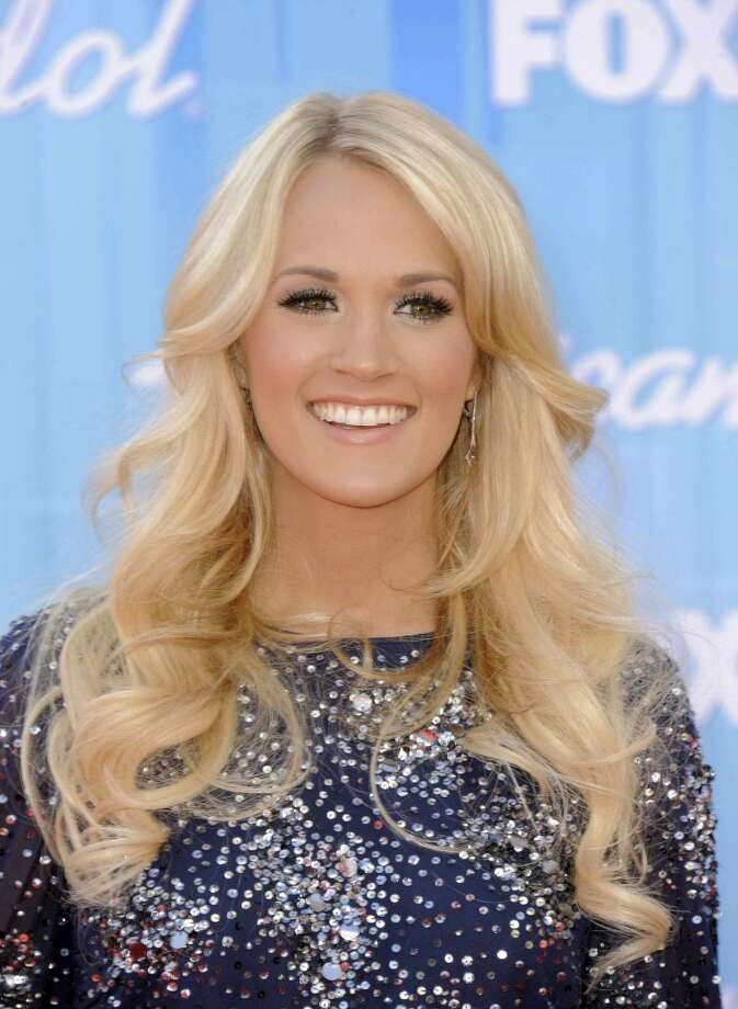 Carrie Underwood arrives at the American Idol finale on Wednesday, May 23, 2012 in Los Angeles. (Photo by Jordan Strauss/Invision/AP) (JORDAN STRAUSS/INVISION/AP)