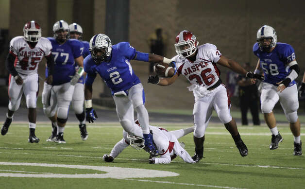 Jasper falls to Navasota in Area playoff game. Photo: Jason Dunn