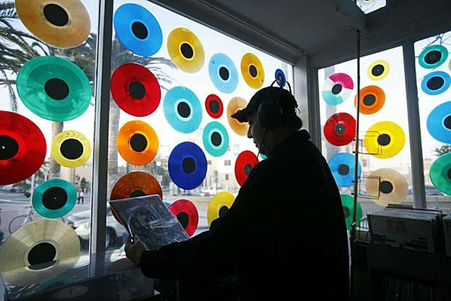Located near the intersection of Market and Octavia, you can't miss Grooves Inspiralled Vinyl thanks to its colorful vinyl decorations on the facade. Grooves is the place to check out if you're looking for some old-time music from jazz to classical rock.(1797 Market Street, San Francisco.) Photo: Mike Kepka, SFC