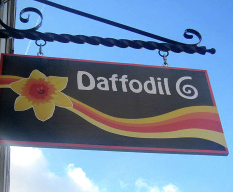 Daffodil 6 on Bank Street in the heart of the New Milford village center. November 2012 Photo: Norm Cummings