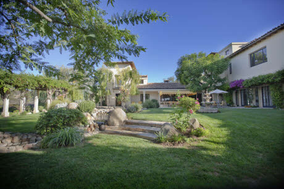 The landscaping is designed for the dry local climate. (Prudential California Realty)