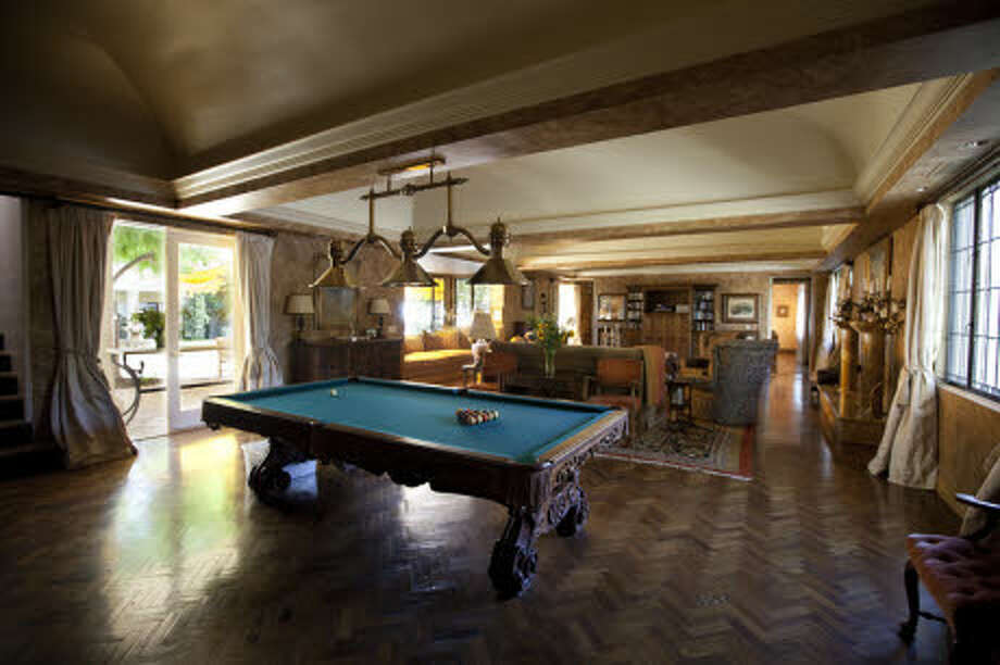 A game room. (Prudential California Realty)