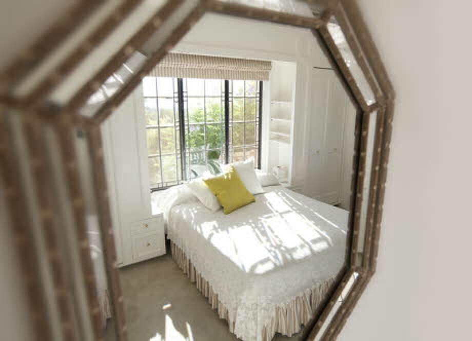 Bedroom, in reflection. (Prudential California Realty)