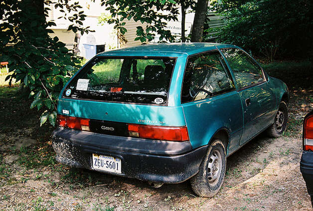 A 1993 Geo Metro XFI would rival a recently made hybrid. The car got 52 mpg on the highway, 43 on city roads and 47 combined. (Photo: martypurks, Flickr) Photo: .